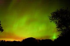 9 11 lights northern Στοκ Εικόνες