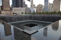 9-11 memoriale Fotografie Stock