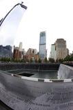 9/11 minnesmärke Fotografering för Bildbyråer