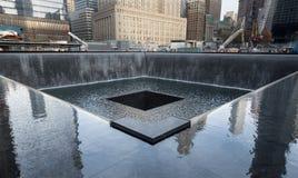 9/11 minnesmärke Arkivbild