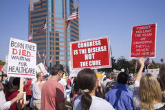 9-12 raduno e partito di tè Immagini Stock Libere da Diritti