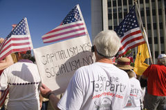 9-12 Rally and Tea Party, Stock Image
