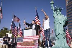 9-12 Rally and Tea Party Stock Photos