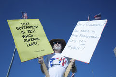 9-12 Rally and Tea Party Royalty Free Stock Photography