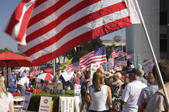 9-12 Rally and Tea Party Royalty Free Stock Photo