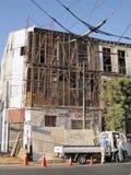 9 2010年智利地震2月瓦尔帕莱索 库存图片