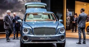 9 2012年bentley exp日内瓦motorshow 免版税库存图片