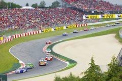 9 akci Barcelona samochodów m mogą Porsche zdjęcie stock