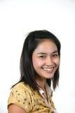 9 asiatiska flickabarn Royaltyfria Bilder
