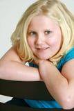 9 blondynów dziewczyna trochę Fotografia Stock