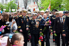 9 de mayo, día de la victoria. Fotografía de archivo libre de regalías