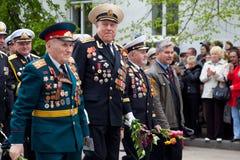 9 de mayo, día de la victoria. Fotos de archivo libres de regalías