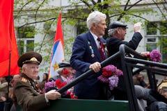 9 de mayo, día de la victoria. Foto de archivo libre de regalías