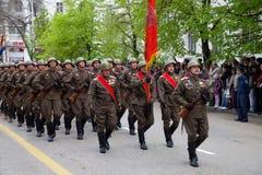 9 de mayo, día de la victoria. Imagen de archivo libre de regalías