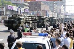 9 del AMI 2010. Desfile de la victoria Fotografía de archivo libre de regalías