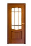 9 drzwiowych drewniane fotografia stock