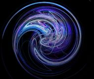 9 fractal Fotografia Royalty Free