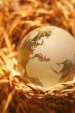 9 globe kryształów Obrazy Stock