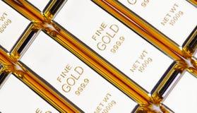 9 guld för 999 fine Royaltyfria Bilder