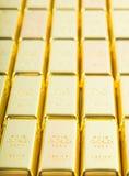 9 guld för 999 fine Royaltyfri Bild