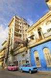9 Havana 2010 amerykańskich samochodowych rosjanów Lipiec Zdjęcie Royalty Free