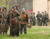 9 kan unidentified manpetersburg russia st t Royaltyfria Bilder