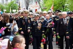 9. Mai, Sieg-Tag. Lizenzfreie Stockfotografie