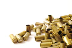 9 mm shells Royalty Free Stock Image