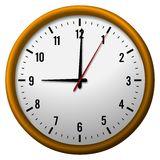 9 o'clock Royalty Free Stock Image