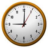 9 o'clock Royalty Free Stock Image