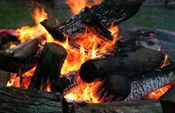 9 ogień Obraz Stock