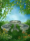 9 ogrodowa wiosna Obrazy Royalty Free