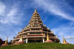 9 opowieści pagody i porcelany styl Obrazy Royalty Free