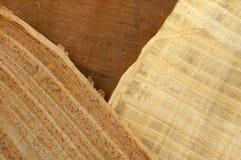9 papper mönstrat trä Royaltyfri Fotografi