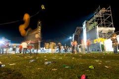 9 rock koncertów obraz stock