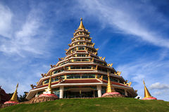 9 story pagoda and china style Royalty Free Stock Images