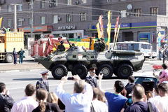 9 van MAI 2010. De parade van de overwinning Royalty-vrije Stock Foto's
