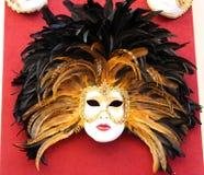 9 venetian maskeringar royaltyfri foto