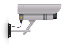 9_Video Camera. Outdoor security camera. You can us  it on your site or for an icon Stock Photography