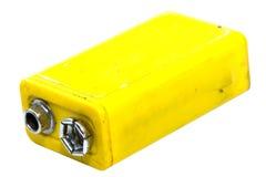 9-Volt-Batterie Stockfotografie