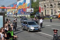 9 von MAI 2010. Siegparade Stockbilder