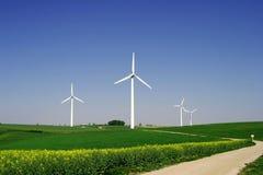 9 windenergy Стоковая Фотография RF