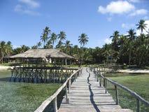 9 wyspy siargao obłoczna stopu 7 rano. Obraz Royalty Free