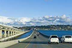 90高速公路西雅图 库存图片