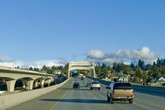 90高速公路 免版税图库摄影