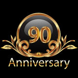 90 anniversary happy birthday Stock Photography