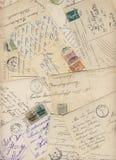 900张早期的明信片 图库摄影