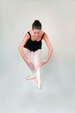 900 baletnicza pozycja Fotografia Royalty Free