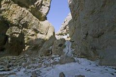 9009, Goredale Litteken, de Dallen van Yorkshire, April 2006 stock afbeeldingen