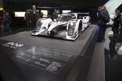 908日内瓦hybrid4 peugeot初次公演世界 库存照片